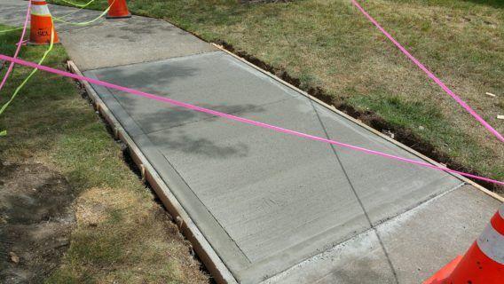 Olympia Walkway Repair